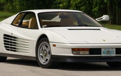 Miami Vicen autot